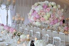 Sarah Haywood London Wedding Wedding Decoration Read more top 10 wedding planners: http://www.wedetiquette.com/10-most-popular-wedding-planners/