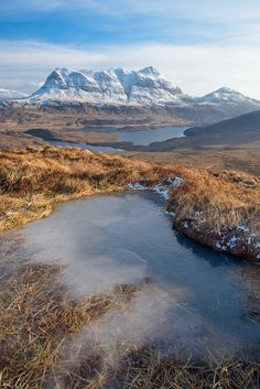 Cùl Mòr by Guy Richardson Assynt, Highland, Scotland