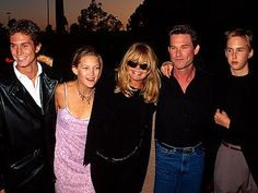 Goldie Hawn with kids Kate and Oliver Hudson Oliver Hudson, Bill Hudson, Kate Hudson Family, Goldie Hawn Kurt Russell, All In The Family, See Movie, Important People, Perfect Couple, Celebs
