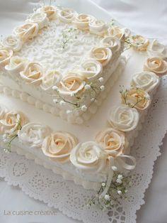 Wedding Sheet Cakes, Birthday Sheet Cakes, Square Wedding Cakes, Square Cakes, Wedding Cake Designs, Anniversary Cake Designs, Wedding Anniversary Cakes, Square Cake Design, Bithday Cake