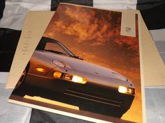 1989 PORSCHE 928 S4 BROCHURE PROSPEKT + SLIPCASE FOLDER OVERSIZED RARE AMERICAN