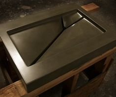 how to make a mold for a concrete sink - Google Search | Concrete ...