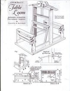 Weaving Loom Plan