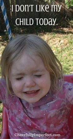 I don't like my child today  #highneeds #spiritedchild