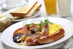 Full English Breakfast Stock Photo - Image: 46207370