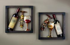 Framed Art Work | Tripar International, Inc. - Framed Wine Wall Art (Wine Accessories)