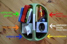 15 cosas útiles que puedes hacer para organizar el coche