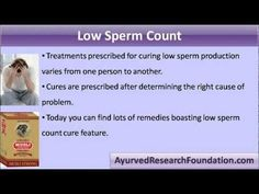 This video describes how herbal remedies for low sperm count are effective in increasing male fertility.