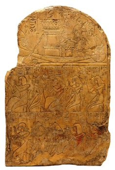 The Ancient Egyptian Stela of Hesysunebef (Manchester Museum)