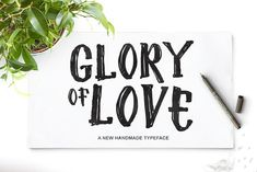 Glory Of Love by Dc Lab on @creativemarket