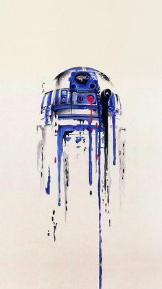 Minimal Painting Starwars Art Illustration #iPhone #6 #plus #wallpaper