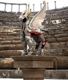 Saint Seiya, Le vestigia di bronzo di Pegasus.