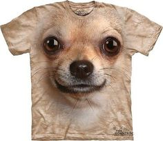 Chihuahua Face Kids T-Shirt