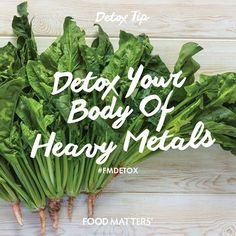 Leafy green vegetables such as bitter gourd, arugula, dandelion greens, spinach, mustard greens, and chicory also contain numerous cleansing compounds that neutralize heavy metals, which can bear heavily on the liver!  www.foodmatters.tv #FMdetox #foodmatters