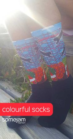 We make eye-catching colourful unisex socks decorated with paintings by artists. Discover our bold and striking socks collection with garish and unique design - WRAP YOURSELF INTO ARTWORK #summerclothes #socks #dresses #bold #elastic #vivid #colourful #striking #unique #unisex #somejamfashion #eye-catching #garish #artwork #somejam #women #vividcolours