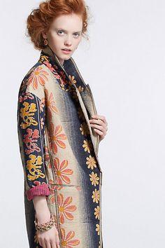 Orissa Vintage Kantha Coat-Orissa Vintage Kantha Coat