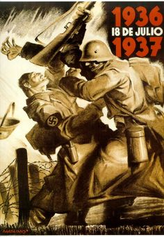 Guerra Civil española, 1936-1939. Un año de guerra, 18 de julio de 1937