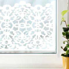 Raamfolie Lacy wit Window Film, Ramen, Sweet Home, Windows, Home Decor, Ideas, Decoration Home, House Beautiful, Room Decor