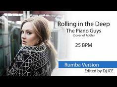 Rumba - Rolling in the Deep (25 BPM)