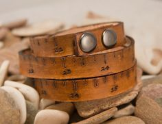 Measure Leather Tape Measure bracelet