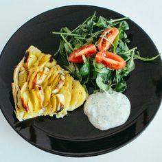 Kartoffel-Lauch Zwirbel, vegan