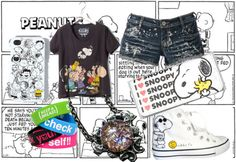 """Peanuts"" by torrie619 ❤ liked on Polyvore"
