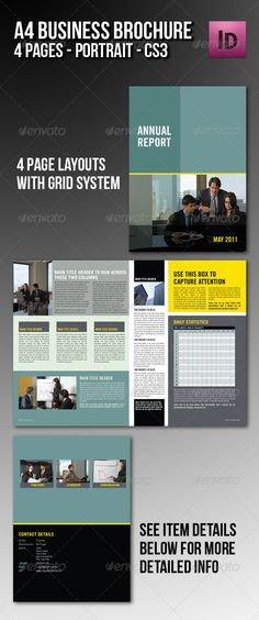 Business Brochures  Graphic Design    Business