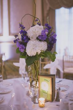 Elegant Downtown Dallas Wedding from Day 7 Photography - wedding centerpiece idea
