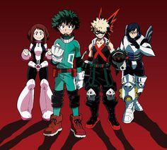 Nuevas imágenes promocionales y diseños de personajes del Anime Boku no Hero Academia.