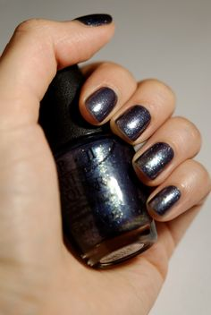O.P.I On Her Majesty's Secret Service--I love this color right now. Very holiday