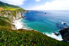 While we're in Monterey, California, taking in the famous 17-Mile Drive is a must!