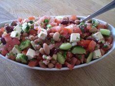 Salade de légumineuses à la grecque | Recettes du Québec