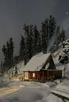 20 jolies photos de chalets couverts de neige qui donnent le goût d'y passer la fin de semaine - Joli Joli Design