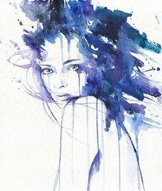 Watercolorist: @cora_ocean #waterblog #акварель #aquarelle #painting #drawing #art #artist #artwork #painting #illustration #watercolor #aquarela