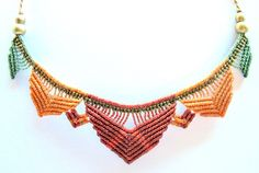 Simple jewelry repairs you can do by yourself Collar Macrame, Macrame Colar, Macrame Dress, Macrame Art, Macrame Necklace, Macrame Jewelry, Boho Necklace, Diy Jewelry, Jewlery