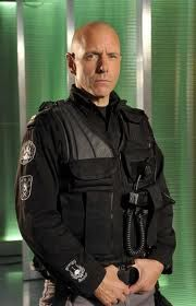 Hugh Dillon. He gets extra points for playing a SWAT team member on Flashpoint.