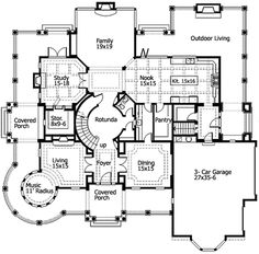 Plan AM  French Country Detailing   French Country  Floors and    Plan JD  Luxurious Shingle Style Home Plan