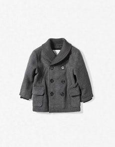 boys hooded duffle-coat Zara coats clothes fashion kid $55.90 ...