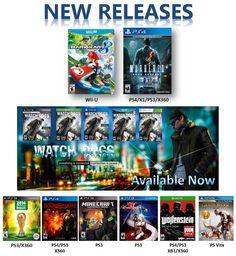 Juegos de Video a la venta ahora. Visite nuestro sitio web en www.latamgames.com.  #juegosvideo, #videojuegos #Xbox1, #Xbox360, #PS4, #PS3, #PSV