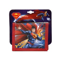 Superman Man of Steel Kids Bifold Wallet ** This is an Amazon Affiliate link. Click image to review more details.