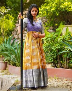 These Ethnic Long Dresses Will Give The Most Elegant Looks!! • Keep Me Stylish Long Gown Dress, Anarkali Dress, Long Dresses, Lehenga, Boy Dress, Long Frock, Anarkali Suits, Indian Designer Outfits, Designer Dresses