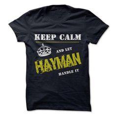 Let HAYMAN Handle it