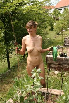 Gardening in the nude pic 959