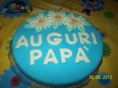 Buon compleanno  papà ,  auguri ..quando la passione la usi per un giorno speciale.