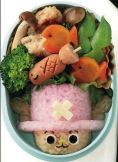 One Piece bento - Kawaii Chopper