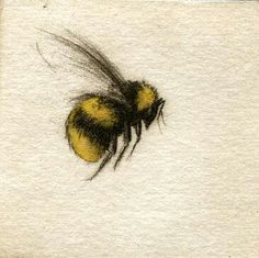 Bumble bee. Gotta have a couple of these guys on my sleeve. With a lady bug or two and a butterfly, maybe?