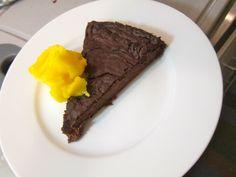 Flourless Choc Cinnamon Banana Cake #glutenfree #grainfree #paleo