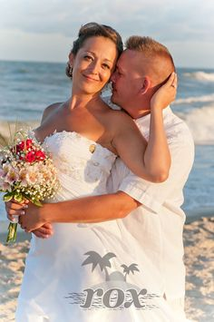 Wedding on the Beach in Assateague Virginia by Rox beach Weddings:  http://roxbeach.com/