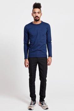 Radar Sweater Bright Blue  S.N.S. Herning