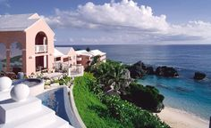 La Serena Spa in pink-sand Bermuda.